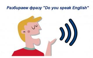 Разбираем фразу «Do you speak English» — перевод, значение, варианты ответа