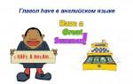 Глагол have в английском языке — функции, грамматика, примеры