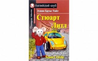 Книга на английском языке Стюарт Литл для учащихся 7, 8 классов