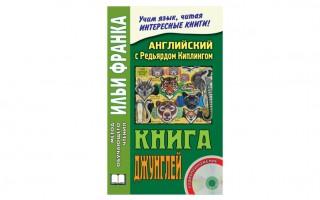 Книга джунглей (The Jungle Book) — книга для чтения на английском языке
