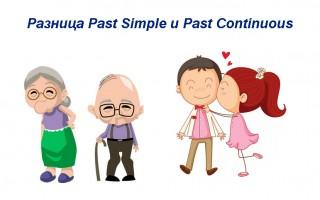 Разница Past Simple и Past Continuous — сравнение, применение, грамматика