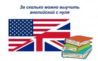 За сколько можно выучить английский с нуля: ищем однозначный ответ