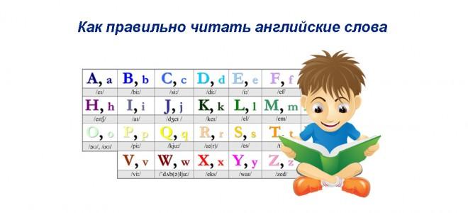 Как правильно читать английские слова — объяснение транскрипции и правил