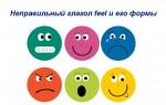 Перевод английского глагола feel + 3 формы + примеры предложений
