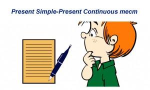 Present Simple-Present Continuous тест для начинающих, школьников, студентов