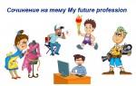 Пишем сочинение на тему My future profession — рекомендации, образцы