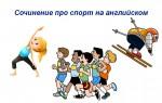 Сочинение про спорт на английском — популярная лексика, готовый пример