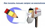 Как правильно писать письмо запрос на английском, образец письма с переводом