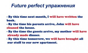 Future perfect упражнения для отработки грамматики на разных уровнях
