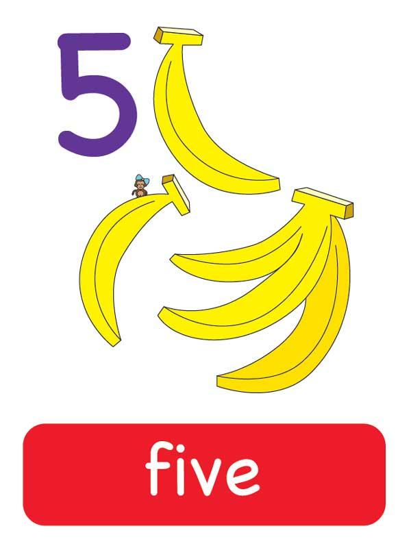 пять наанглийском