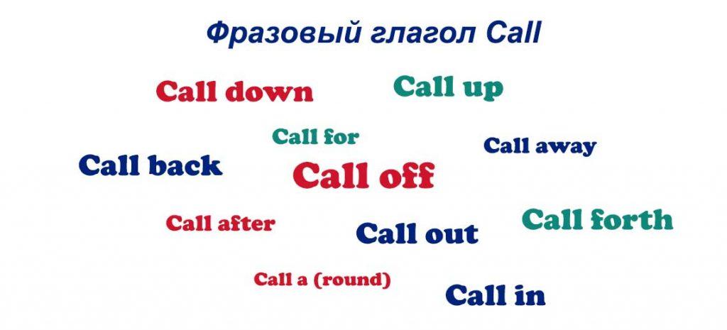 Фразовый глагол Call