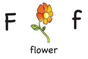 Карточка на английском flower