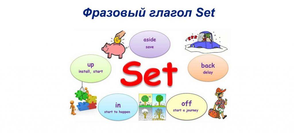 Фразовый глагол Set