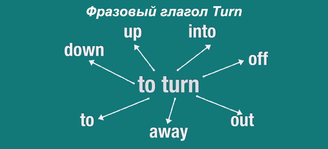Фразовый глагол Turn