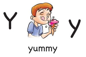 Карточка на английском yummy