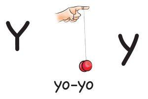 Карточка на английском yo-yo