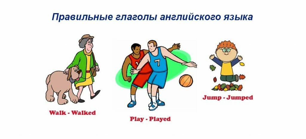 Правильные глаголы английского языка