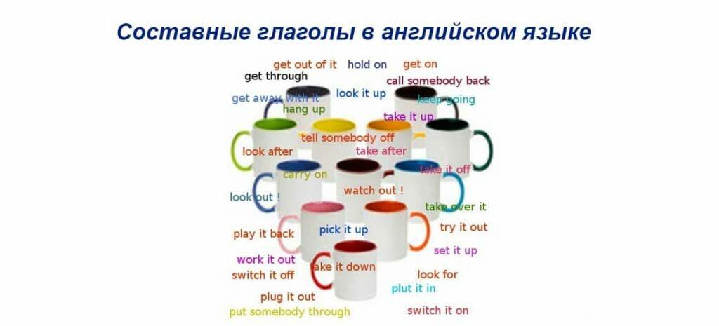 Составные глаголы в английском языке