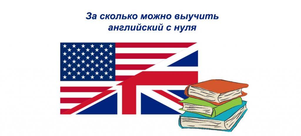 За сколько можно выучить английский с нуля