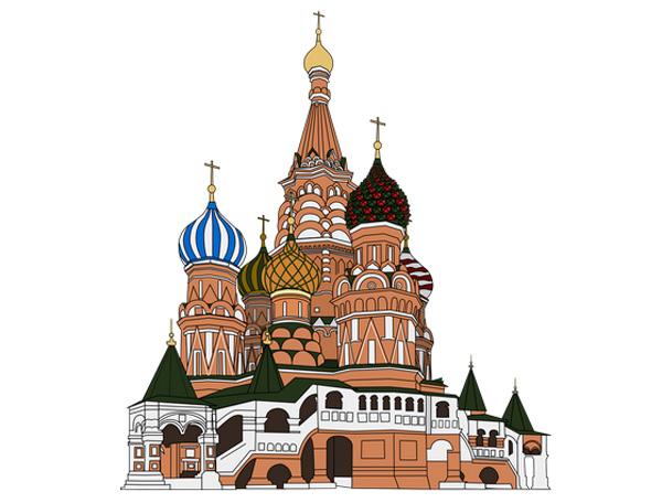 Рассказ про Храм Василия Блаженного на английском языке