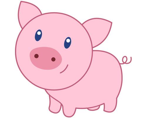 Свинья или поросенок по-английски - a pig