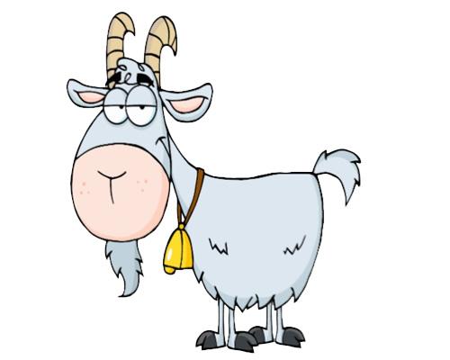 Козел или коза по-английски - a goat
