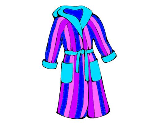 Халат по-английски - dressing gown [ˈdresɪŋ gaʊn]