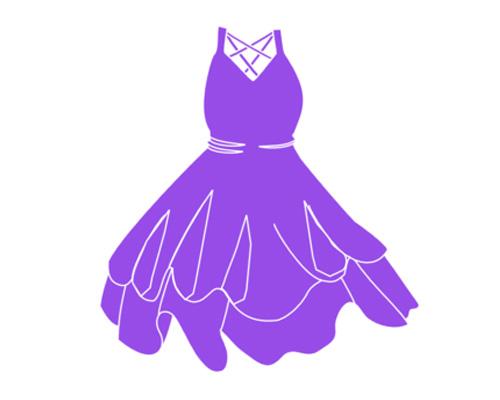 Платье по-английски - dress [dres]