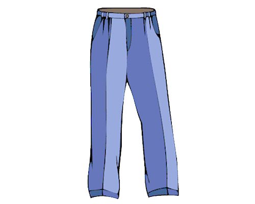 Пара брюк или пара штанов по-английски - pair of trousers