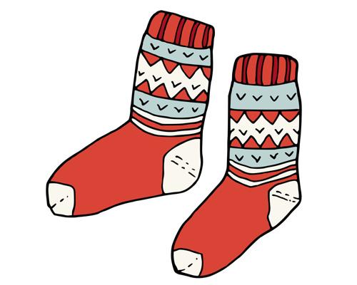 Пара носков по-английски - a pair of socks