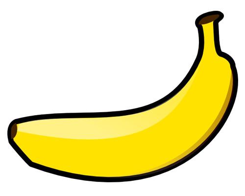 Банан по-английски - a banana