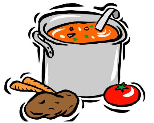 Суп по-английски будет -soup