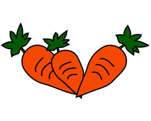 Морковь по-английски - carrot [ˈkærət]