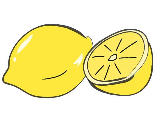 На картинке изображен лимон - lemon [ˈlemən]