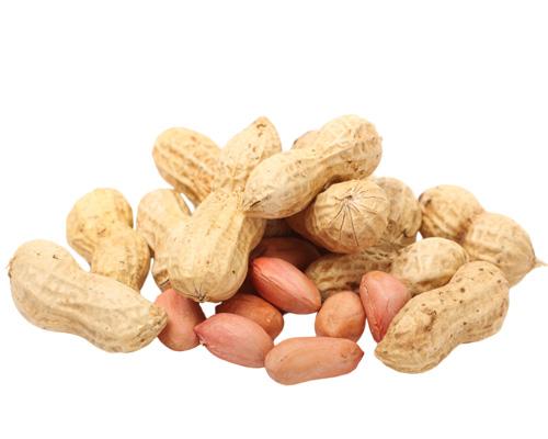 Арахис по-английски - peanuts [ˈpiːnʌts]
