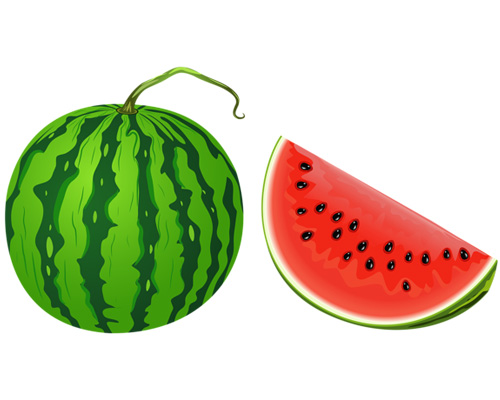Арбуз по-английски - water melon
