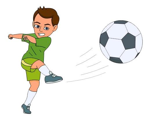 По-английски футбол - football [ˈfʊtbɔːl]