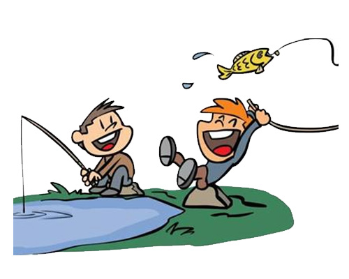 Рыбалка по-английски - fishing [ˈfɪʃɪŋ]