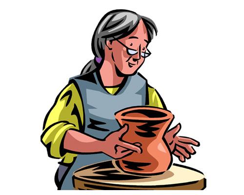 Гончарное дело, керамика по-английски - pottery