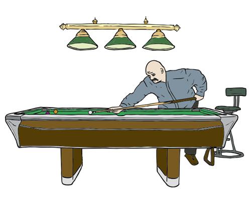 Бильярд по-английски - billiards