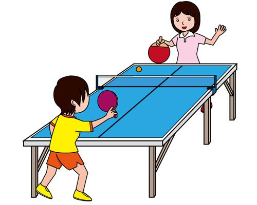 Настольный теннис по-английски - table tennis