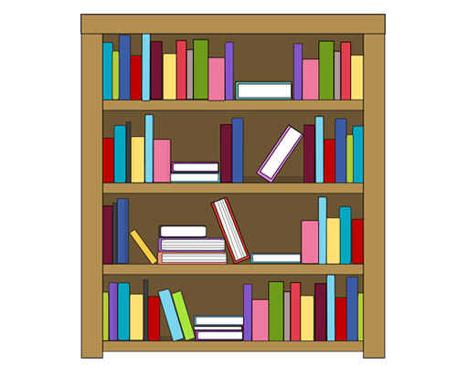 Книжный шкаф по-английски - bookcase