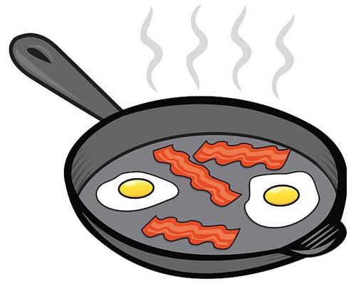 Сковорода по-английски - frying pan [ˈfraɪɪŋ pæn]