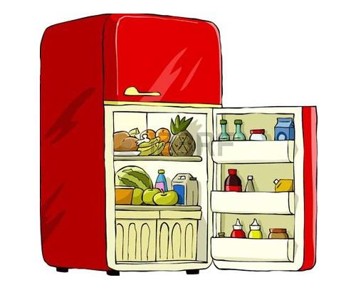 Холодильник по-английски - fridge [frɪʤ]