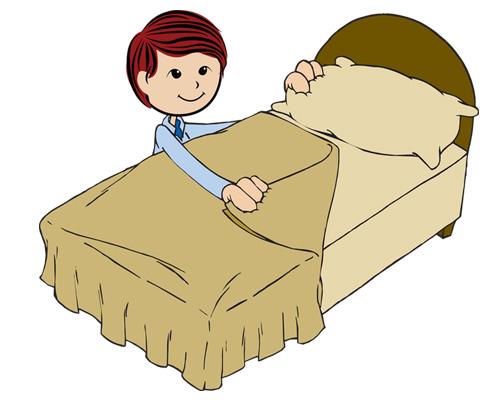 Заправлять кровать по-английски будет - to make the beds