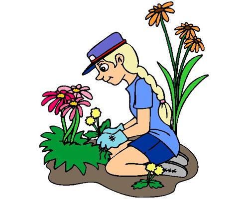 Заниматься садоводством, работать в саду по-английски - to do the gardening
