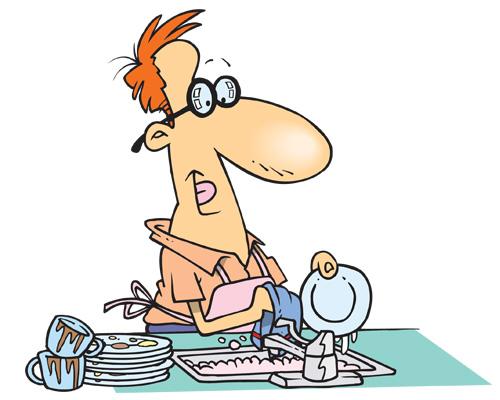 Мыть посуду -to do the washing-up