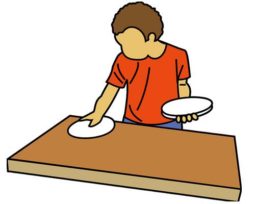 Накрывать на стол - по-английски to lay the table