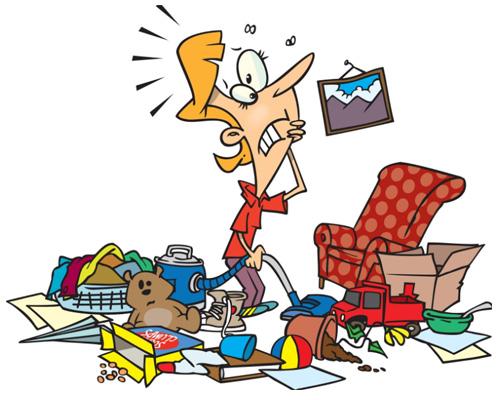 Убирать, прибирать, убираться по-английски -to tidy up