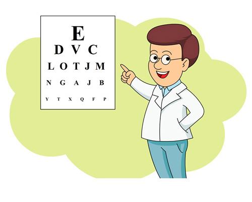 Кто проверяет зрение и прописывает очки - an optician